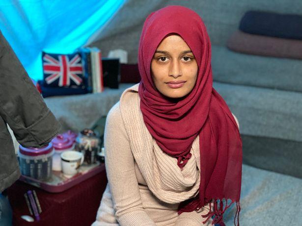 Begum's British citizenship was withdrawn in 2019