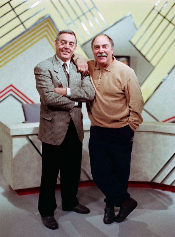 Saint & Greavsie was popular during the 1980s and 90s
