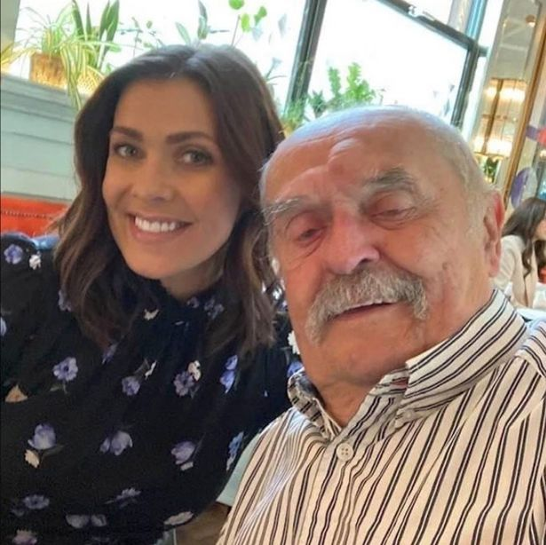 Kym Marsh's dad was recently diagnosed with cancer