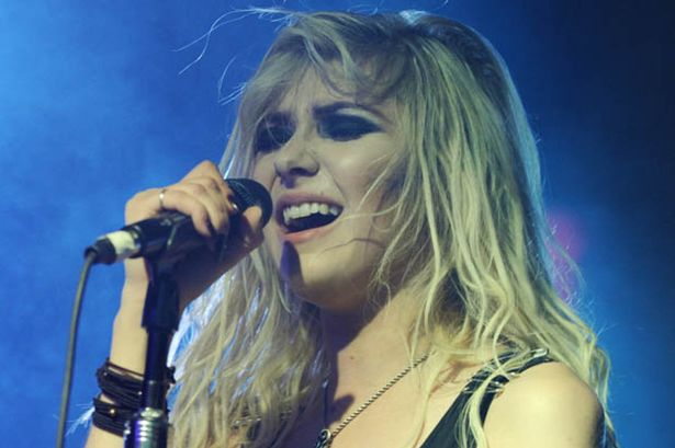Taylor heads up band The Pretty Reckless