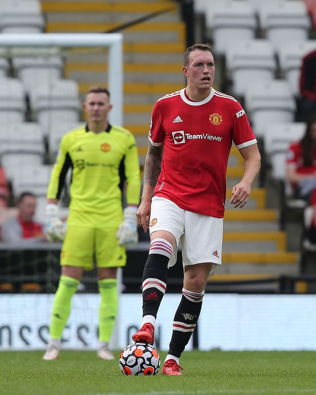 Jones appeared for Manchester United's Under 23s against Brighton on Saturday