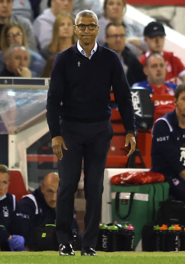 Chris Hughton was axed as Nottingham Forest boss earlier this week