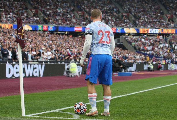 Luke Shaw was pivotal to neutralising West Ham's dangerous right-back Vladimir Coufal