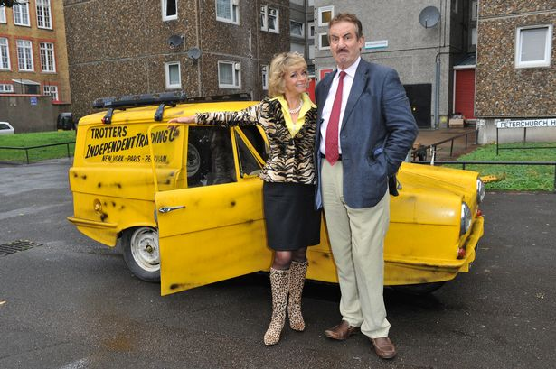 Sue Holderness and John Challis (R) attend the Gold Nelson Mandela House launch, celebrating Only Fools at 30 on Gold on August 23, 2011