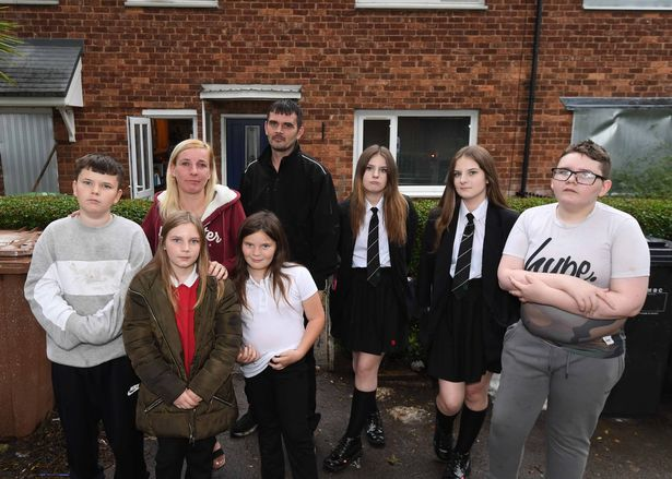 The family could be homeless on Christmas day
