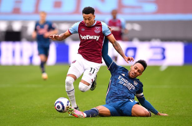Lingard was sent on loan to West Ham in January after failing to make a Premier League appearance in the first half of last season