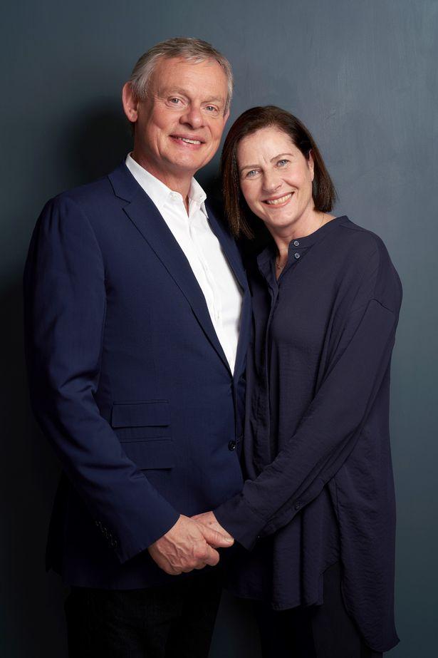 Martin Clunes is working with Philippa Braithwaite on the show
