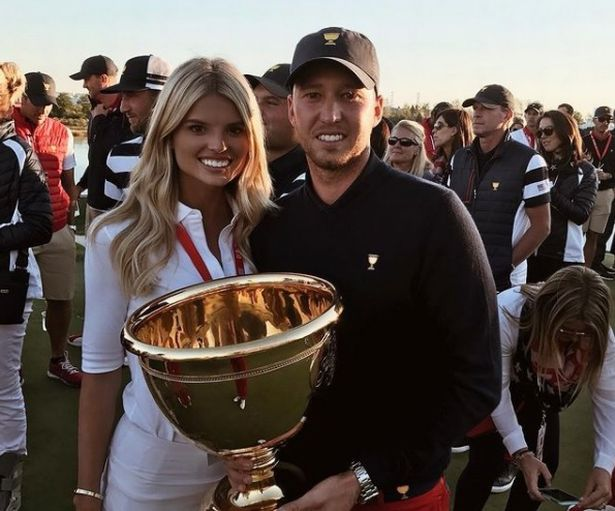 Tori Slater is the girlfriend of Ryder Cup rookie Daniel Berger.