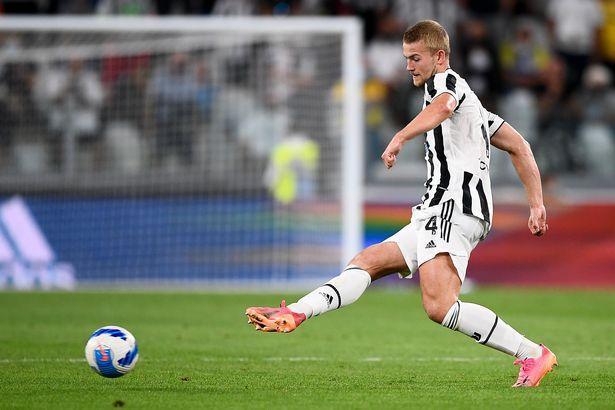 Matthijs De Ligt playing for Juventus