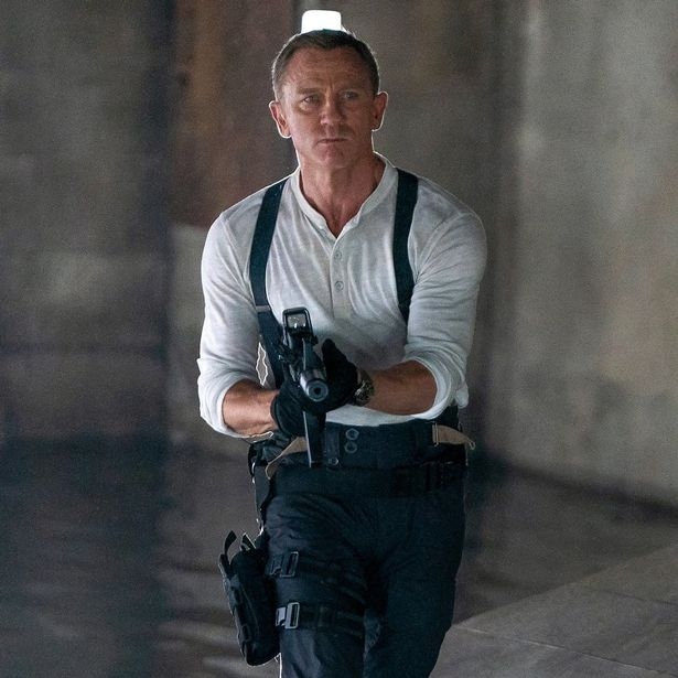 Daniel Craig got his kit off 'most of the way through' in last outing as James Bond