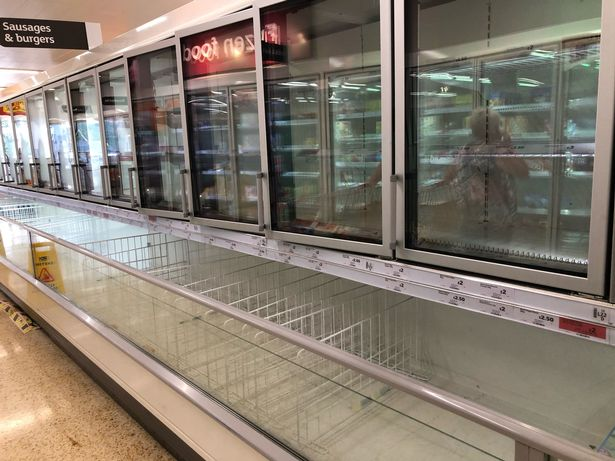 Brits have been warned that stores will run out of chicken and pork