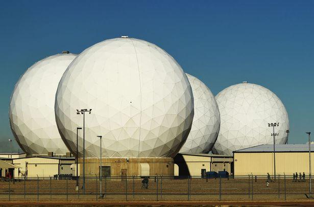 Buckley Space Force base in Aurora, Colorado