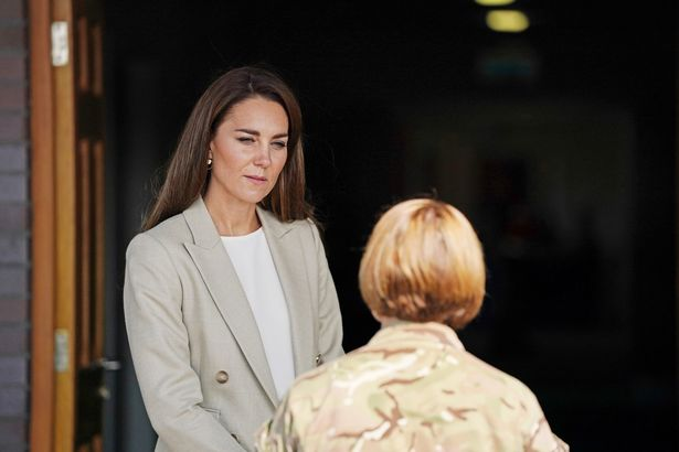 Her comments come after some claimed that Meghan and Harry's Time cover was released to coincide with Catherine's visit to Brize Norton