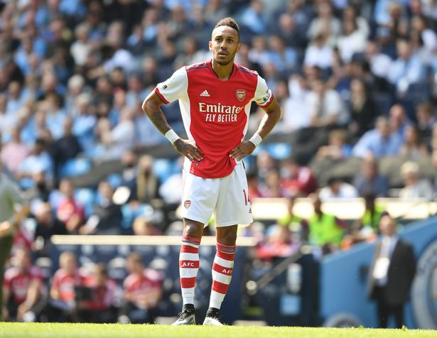 It has been a challenging season in front of goal for Aubameyang so far