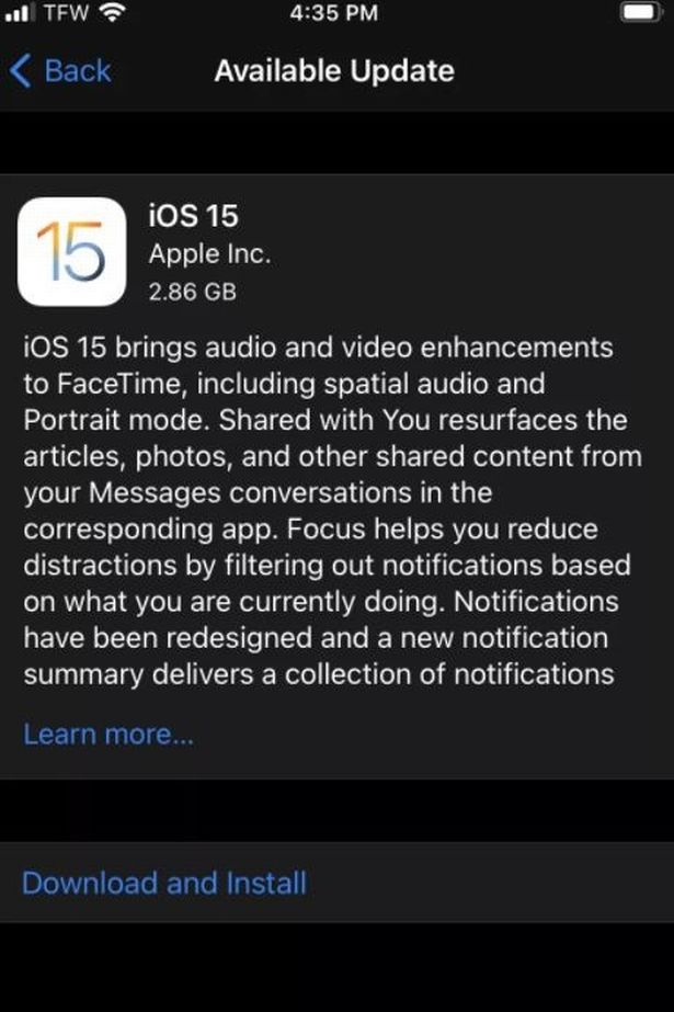 iOS 15 is out - here's how to update
