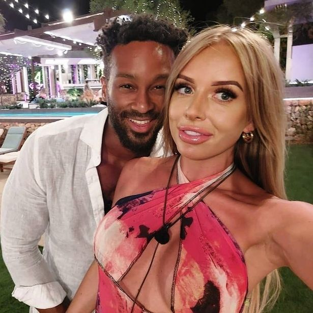 The pair have since made up and came third in the ITV2 dating final
