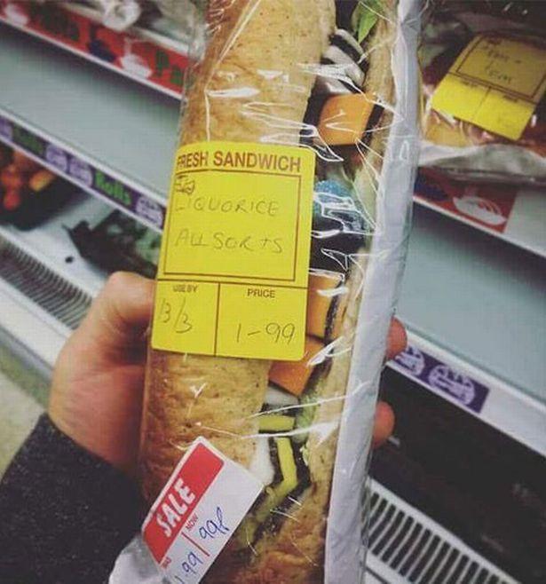 liquorice all sorts sandwich