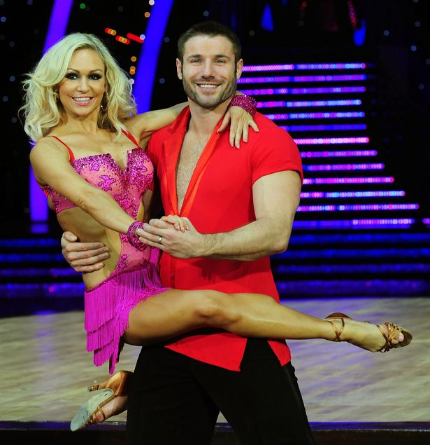 Kristina and Ben were partnered together on Strictly Come Dancing