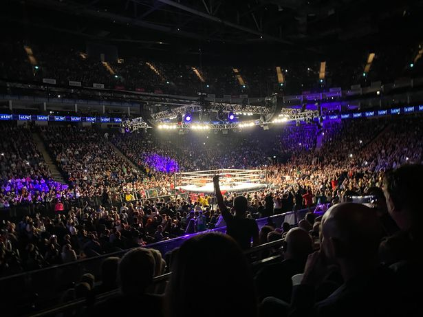 Thousands packed into the O2 in London for a live WWE SmackDown show