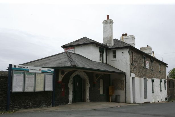 Penmaenmawr station in north Wales, where the incident took place on April 2