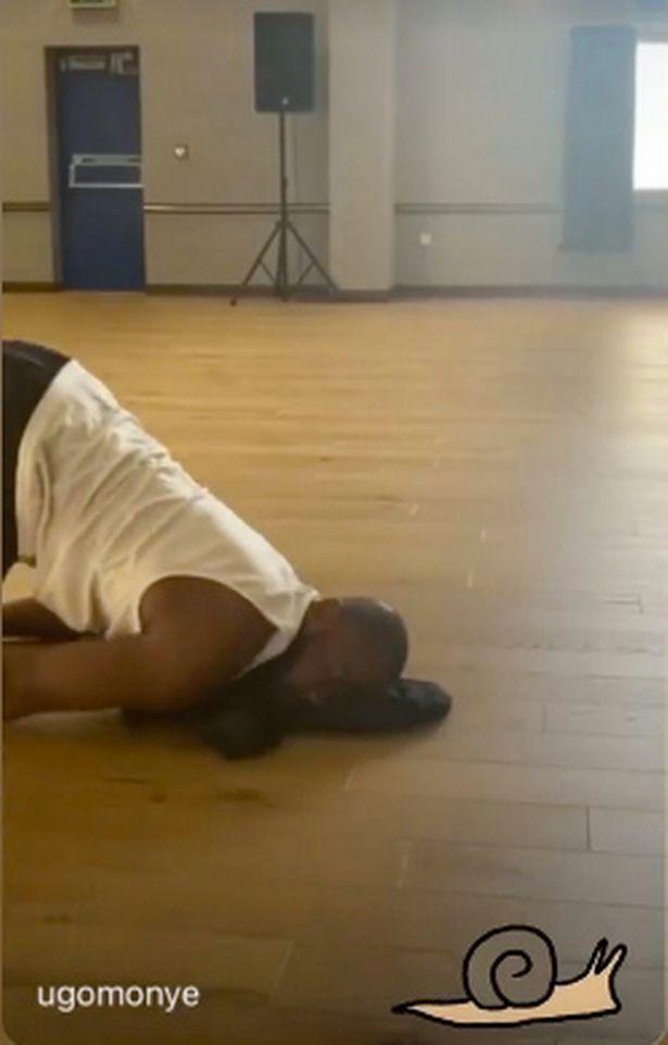 Strictly's Oti Mabusi ruthlessly mocks Ugo Monye during rehearsals for being knackered