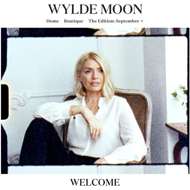 """Holly Willoughby """"could see payday of £12million"""" as she launches new lifestyle brand 'Wylde Moon'"""