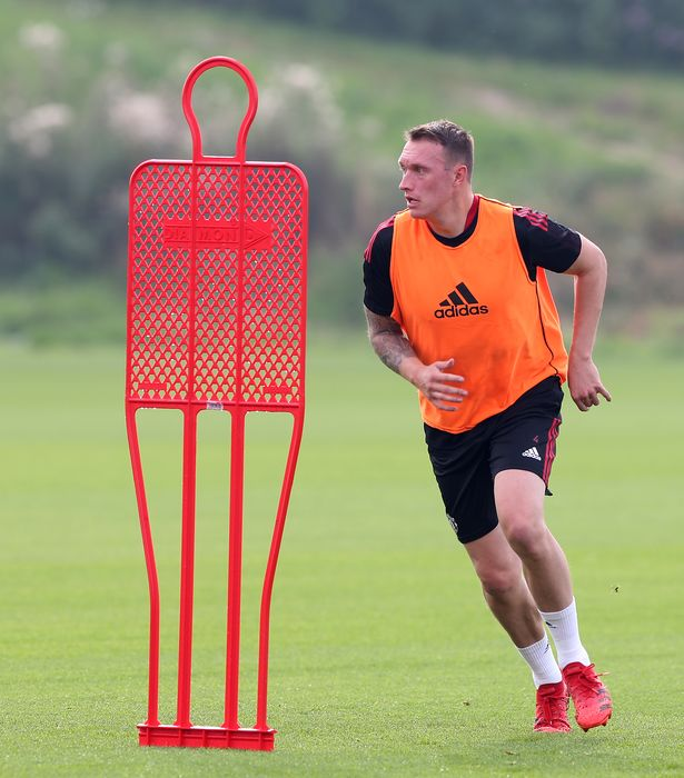 The former England defender has been building up his fitness in training and through matches with United's U23s