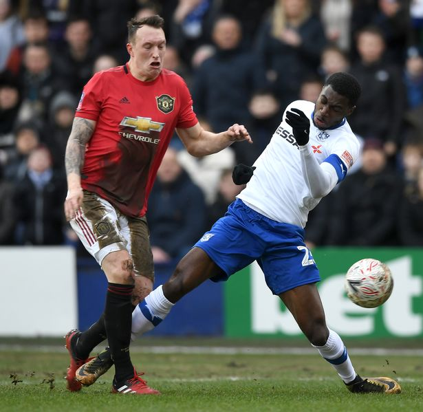 Jones hasn't featured for United since an FA Cup tie against Tranmere in January 2020