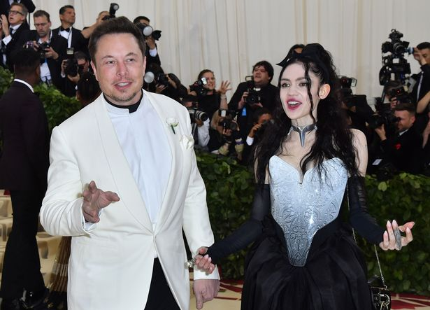 Grimes and Elon met via Twitter and now share a son