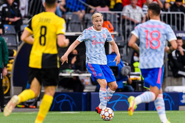 Donny van de Beek should get another chance to impress for United on Wednesday