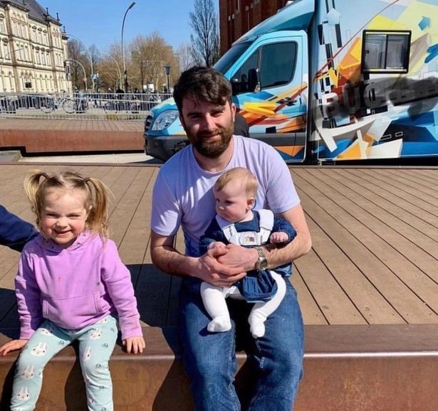 Chris, the eldest son of the Radfords, now has three children