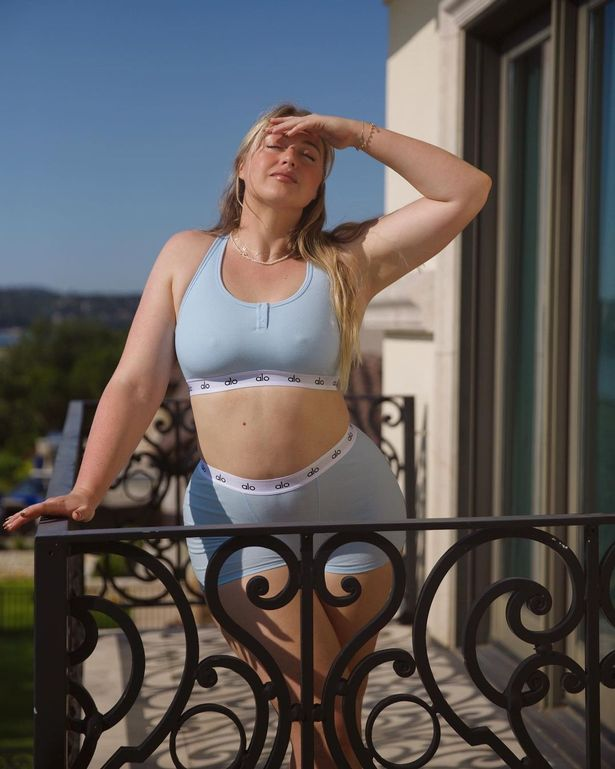 New mum Iskra Lawrence shows off her 'soft tummy' in inspiring underwear snaps