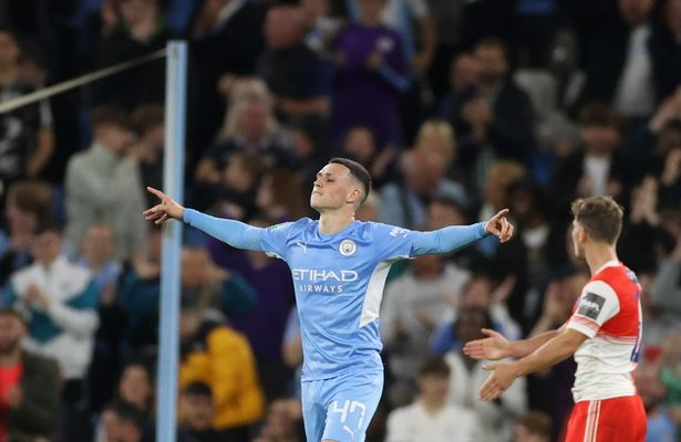 Phil Foden displayed yet another scintillating performance in the Carabao Cup