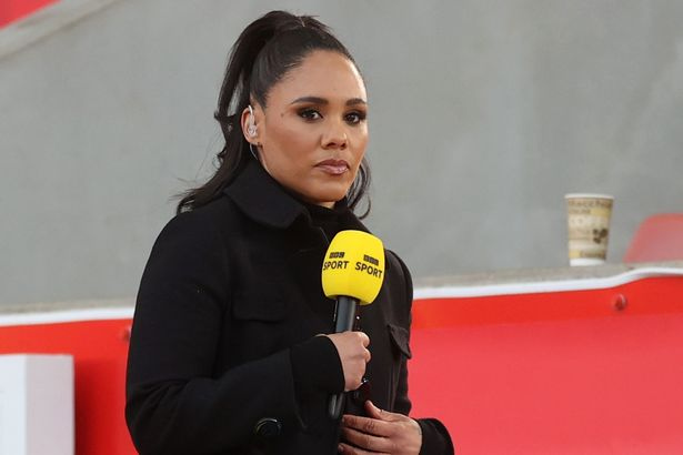 Alex Scott previously received abuse online
