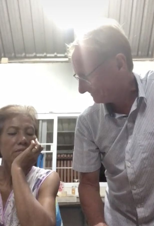 When he repeated the news to his wife, he asked if she is happy and she said 'no'