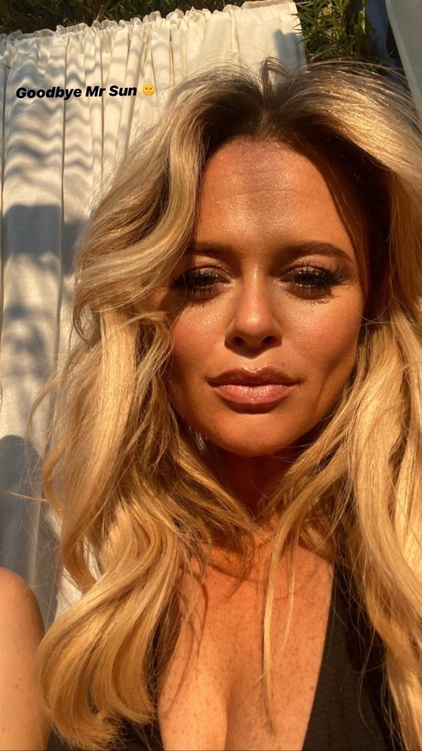 Emily recently jetted off on a girls-only holiday to Marbella