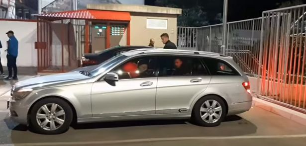 All three of the referee's had been travelling in the same car back to Sarajevo