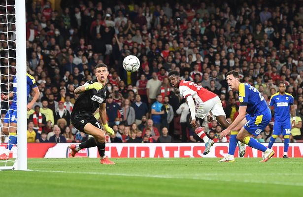 Nketiah almost left Arsenal over the summer
