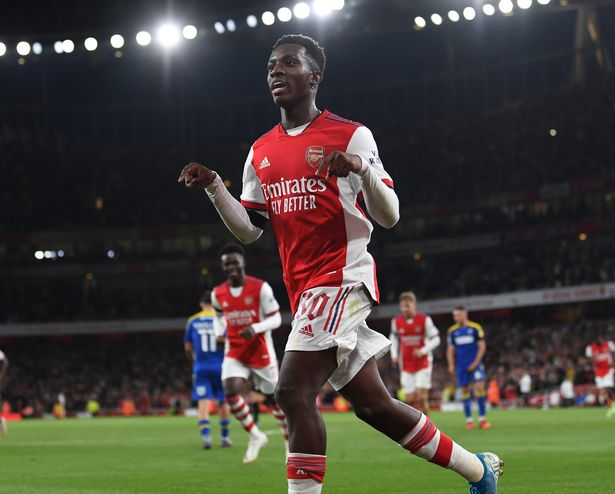 Mikel Arteta says Eddie Nketiah is showing up Arsenal flops on 'how to be professional'