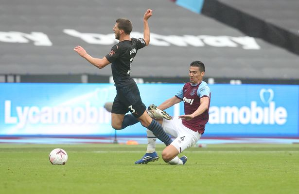Fabian Balbuena never shirked from a challenge during his time at West Ham