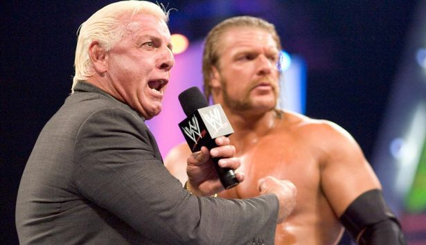 Flair has been in the wrestling industry for more than four decades