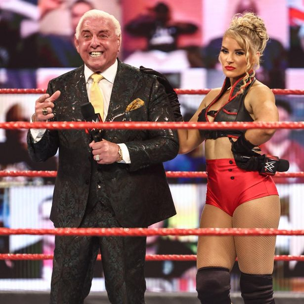Flair had been appearing on screen for WWE as recently as this year