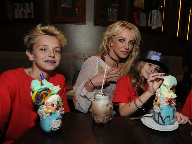 Britney had shared custody with ex-Kevin Federline but her share is now 30%