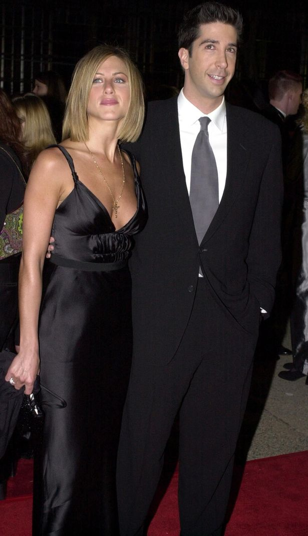The duo played Rachel Green and Ross Gellar in the hilarious sitcom