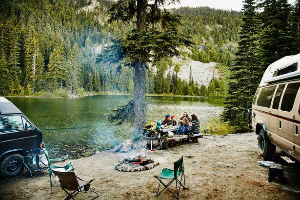A US campsite