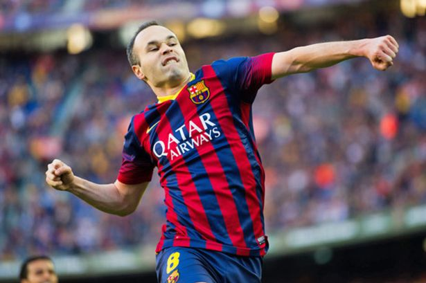 Andres Iniesta thinks it's only a matter of time until Xavi is in the dugout