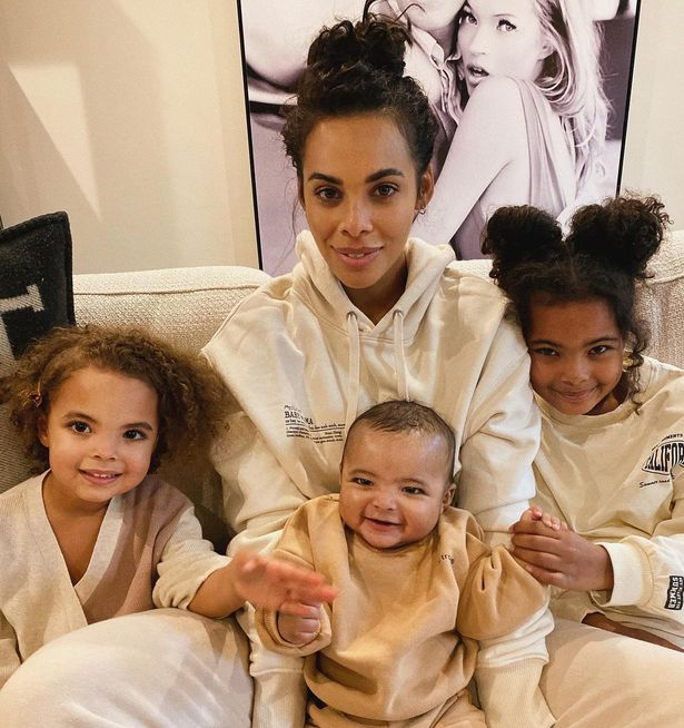 The singer shares three children with her husband Marvin