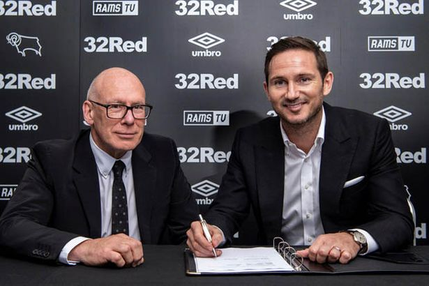 Mel Morris appointed Frank Lampard as manager of Derby County in 2018