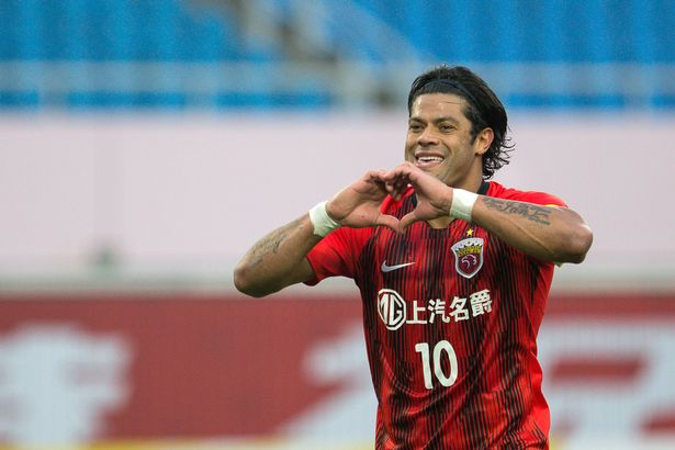 Hulk and Camila developed their relationship when she visited while he was playing for Shanghai SIPG