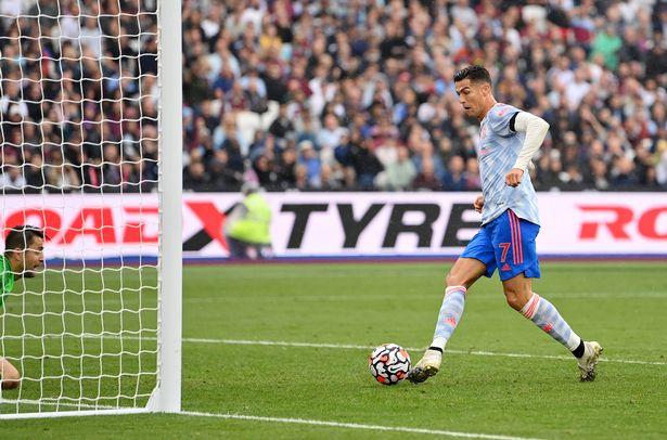 Ronaldo scores vs West Ham
